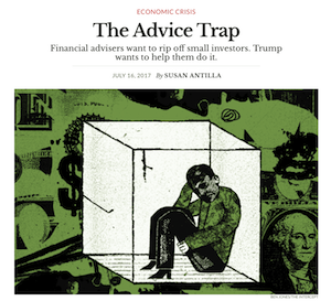 Article: The Advice Trap