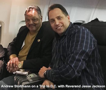 Reverend Jesse Jackson and Andrew Stoltmann