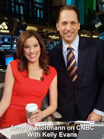Andrew Stoltmann and Kelly Evans